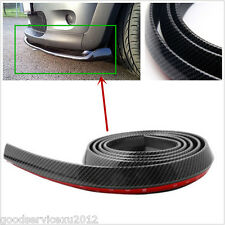 DIY 2.5m Car SUV Front Bumper Body Lip Splitter Spoiler Skirt Protector Sticker