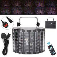 LED Sound Active Stage Light Lighting Projector DMX Laser Beam Disco DJ Party UK