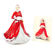 Royal Doulton Pretty Ladies NOELLE  CHRISTMAS Canadian NIB FIGURINE