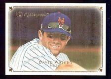 2007 UD Masterpieces #70 David Wright