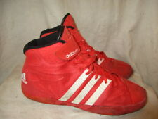 Adidas adizero wrestling red hi top Trainers size 8