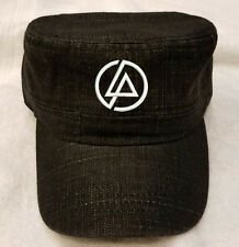 LP LINKIN PARK Logo Hat Denim Cadet Flat Castro Cap Hat Adjustable fit
