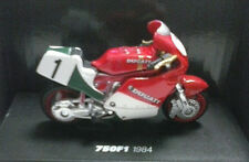NEW RAY 1:32 MOTO DIE CAST DUCATI 750 F1 1984 N°1 ROSSO-BIANCO-VERDE  ART 06033