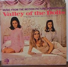 Music from Motion picture soundtrack Valley of the Dolls 33RPM S-4196  121116LLE