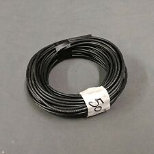 50' 14 AWG Gauge Wire Black Copper Water Resistant