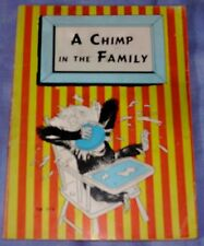 Charlotte Becker: A Chimp In The Family Paperback Scholastic 1957