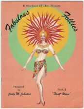 Fabulous Follies Book Ii: Heat Wave Paper Dolls Fashion by Judy M. Johnson