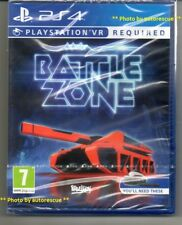 Battlezone VR   {PS VR REQUIRED} 'New & Sealed'  *PS4(Four)*