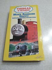 Thomas and Friends - Make Someone Happy and Other Thomas Adventures (VHS, 2000)