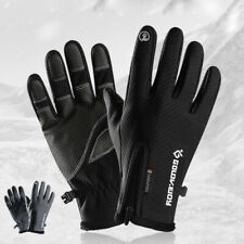 Winter Cycling Gloves Waterproof Warm Touch Screen Fishing Full Finger Thermal