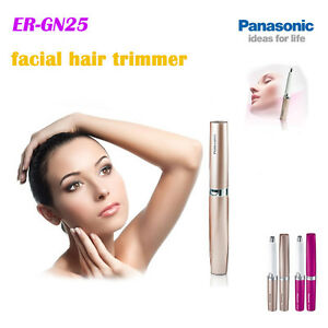 Panasonic New Precision Facial Hair Trimmer Shaver Healthcare beauty for Woman