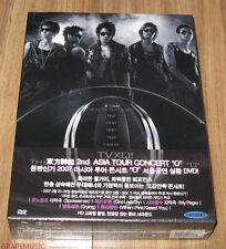 TVXQ DONG BANG SHIN KI 2ND Asia Tour Concert 'O'  DVD + PHOTOBOOK SEALED