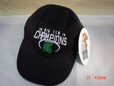 New NWT Michigan State Spartan Big Ten Champions Hat Sport Baseball Cap etc