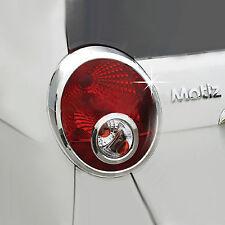 Chrome Rear/Tail Light Lamp Molding Trim Cover for 05-09 Chevrolet Matiz/Joy