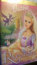 Barbie as Rapunzel (VHS, 2002) CLAMSHELL