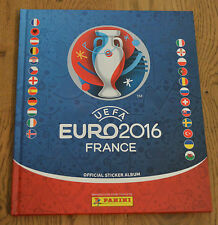 Panini EM Euro 2016 France Hardcover Album Leeralbum Sticker