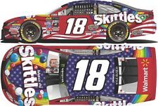 2017 KYLE BUSCH #18 SKITTLES RED WHITE BLUE 1:64 ACTION NASCAR DIECAST IN STOCK