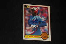 HOF ANDRE DAWSON 1983 DONRUSS SIGNED AUTOGRAPHED CARD #518 EXPOS