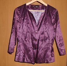 S.Oliver - Damen Sommer-Blazer - Größe 38 - Farbe lila