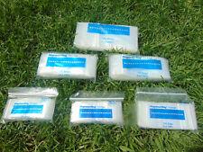 600 Ziplock Bags Assorted Sizes 1.5x1.5 -1.5x2 -2x2 -2x3 -2x4 -3x4 Clear 100each
