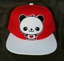 Panda Snapback Adult Hat Streetwear