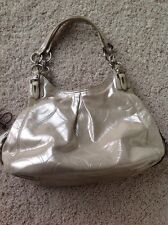 Coach Bag Shimmer Putty Style 15727