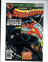 Spider-Woman vol.1 #13 newsstand - Shroud - 1979 - (-Near Mint)