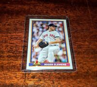 ROGER CLEMENS 2020 TOPPS THROWBACK THURSDAY #TBT #22 PRINT RUN /474 RED SOX #HOF