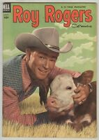 Roy Rogers #68 August 1953 FN Photo cover