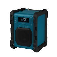 MEDION LIFE P66098 MD 43951 Baustellenradio DAB+ Radio Bluetooth 4.1 USB türkis