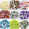 1000 Rhinestones Acrylic Crystal Silver FLAT BACK GEMS 3D Craft 1.5mm to 10mm