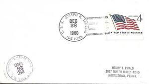 JOSEPH K TAUSSIG (DE-1030) 28 Dec 1960 Locy Type 2t(n+u)