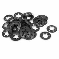 12mm x 25mm Quicklock Starlock Star Speed Lock Locking Washers 50PCS