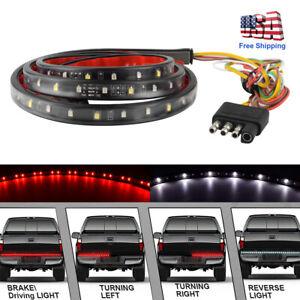 """49"""" LED Rear Brake Signal Reverse Truck Tailgate Light Strip Bar For Truck GMC"""