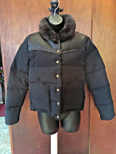 Penfield Rockwool Leather Yoke Down Women's Jacket sz. small