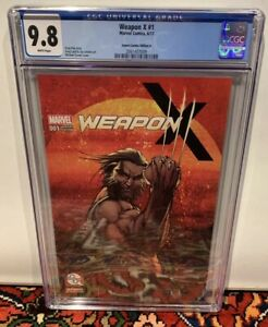 Weapon X #1  Michael Turner Variant Cover Aspen Comics Cover A NM/M CGC 9.8