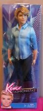 KEN barbie Fashionistas chemise bleue & jean 2012 Mattel X7874 poupee doll COLOR