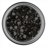 Black Square Rhinestone Gems Flatback Face Art Nail Art Jewels Decoration 2mm