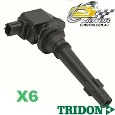 TRIDON IGNITION COIL x6 FOR Ford  Falcon - 6 Cyl FG 05/08-06/10, 6, 4.0L