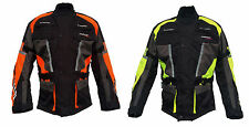 Roleff Motorbike Motorcycle Jacket - Neon- Yellow - Neon- Orange - up to 4XL