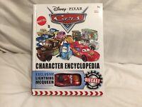 Disney Pixar Cars CHARACTER ENCYCLOPEDIA BOOK Diecast MCQUEEN 1;55  TOKYO DRIFT