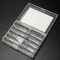 1000pcs Stainless Steel Screws Nuts Assortment Kit Set diy glasses Repair