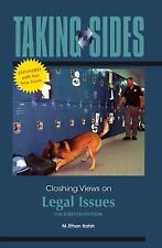 Taking Sides: Clashing Views on Legal Issues, 14th Expanded Edition