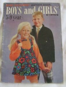 Vintage Enid Gilchrist Boys and Girls 5 - 9 years pattern book