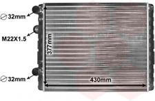Kühler, Motorkühlung für Kühlung VAN WEZEL 58002129