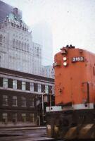 Railroad Locomotive Royal York Hotel TORONTO ON Original 1974 Photo Slide