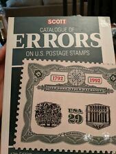 2019 Scott Catalogue Of Errors On U.S. Postage Stamps 17th Edition NEW
