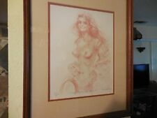 "Limited Edition Lithograph Print 'UN RAYON DE SOLEIL"" signed Connie King 110/250"