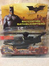 New Mattel Batman Begins Batcopter Vehicle