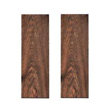 2 piezas de madera para cuchillo manejar México Cocobolo escala espacios en blanco de material 120x40x10mm